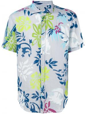 Рубашка с цветочным принтом Drumohr. Цвет: многоцветный