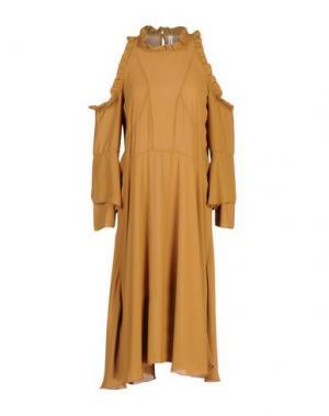 Платье до колена SOUVENIR. Цвет: верблюжий