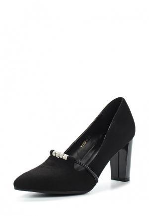 Туфли Vivian Royal. Цвет: черный