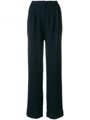 Широкие брюки с завышенной талией Essentiel Antwerp. Цвет: синий