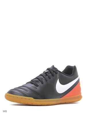 Кеды для зала TIEMPO RIO III IC Nike. Цвет: белый, красный, черный