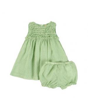 Платье AMORE. Цвет: светло-зеленый