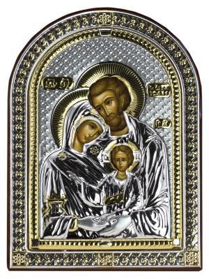 Икона Святое Семейство NAVELL. Цвет: коричневый, серебристый