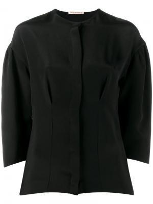 Блузка Vanessa Emilia Wickstead. Цвет: чёрный