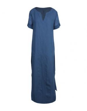 Длинное платье EUROPEAN CULTURE. Цвет: грифельно-синий