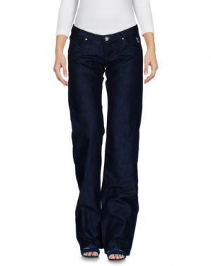 Джинсовые брюки PARIS HILTON. Цвет: синий