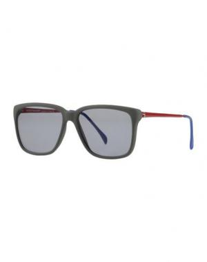 Солнечные очки SHERIFF & CHERRY. Цвет: зеленый-милитари