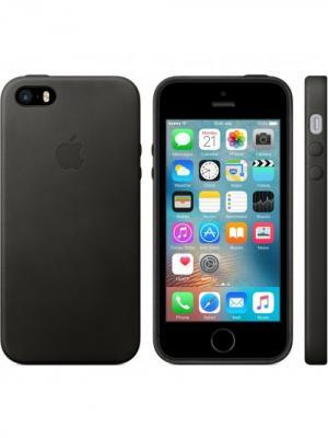 Чехол (клип-кейс) iPhone 5/5s/SE MMHH2ZM/A черный Apple. Цвет: черный