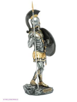 Статуэтка Афина Veronese. Цвет: темно-серый, золотистый