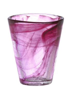 Mine pink тумблер 30cl Kosta Boda. Цвет: розовый