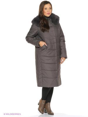 Пальто DEIFY. Цвет: серый