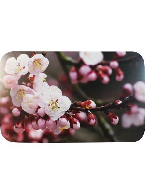 Плейсмат набор 4шт, принт Сакура, ПВХ Dorothy's Нome. Цвет: коричневый, розовый