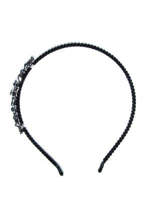 Ободок Bizon. Цвет: черный