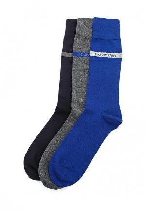 Комплект носков 3 пары Calvin Klein Underwear. Цвет: разноцветный