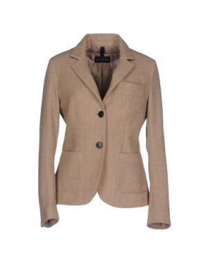 Пиджак AQUARAMA. Цвет: голубиный серый