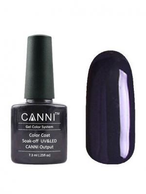 Гель лак №130 CANNI. Цвет: темно-синий