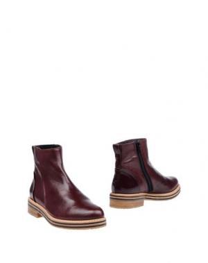 Полусапоги и высокие ботинки ZINDA. Цвет: бронзовый