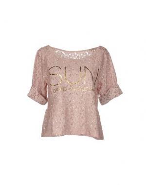 Блузка AU SOLEIL DE SAINT TROPEZ. Цвет: пастельно-розовый