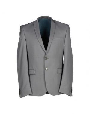 Пиджак DAVID NAMAN. Цвет: серый