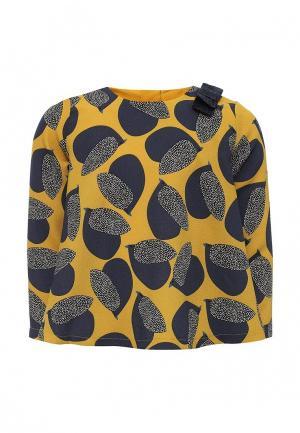 Блуза Catimini. Цвет: желтый