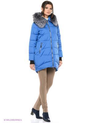 Куртка FREYA. Цвет: синий