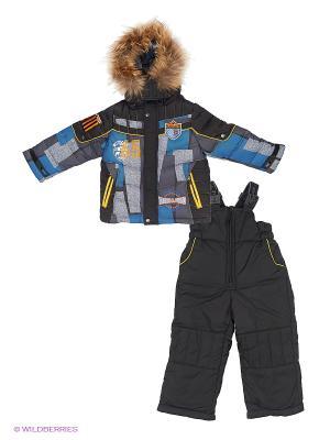 Комплект одежды (куртка+брюки) Steen Age. Цвет: синий, серый
