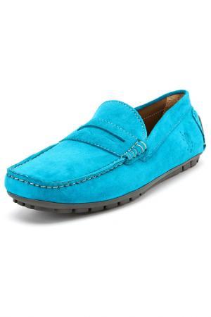 Мокасины U.S. Polo Assn.. Цвет: 350 голубой