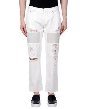 Повседневные брюки AVELON. Цвет: белый