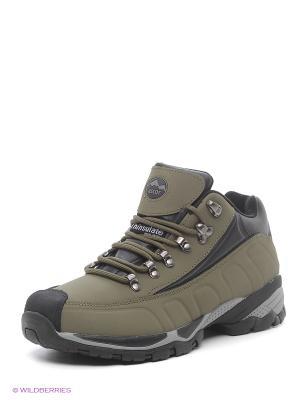 Треккинговые ботинки Ascot. Цвет: хаки