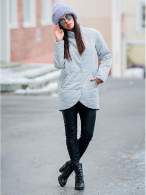 Куртка Exalta. Цвет: серый меланж