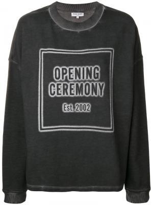 Толстовка с логотипом Opening Ceremony. Цвет: чёрный