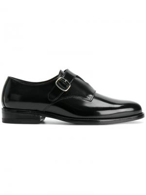 Ботинки-монки Saint Laurent. Цвет: чёрный