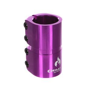 Зажимы  7000 Scs 4 Bolts Clamp Purple Shiny Chilli. Цвет: бордовый