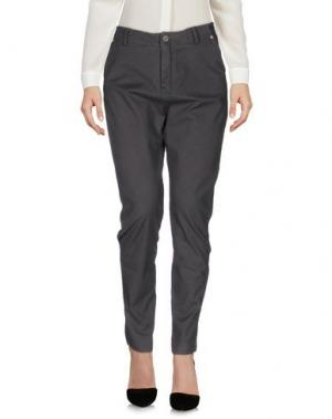 Повседневные брюки DIXIE. Цвет: стальной серый