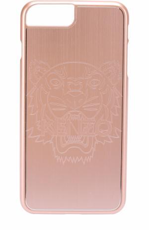 Чехол для iPhone 6 Plus с отделкой металлом Kenzo. Цвет: розовый