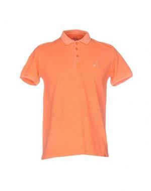 Поло 1° GENITO. Цвет: оранжевый