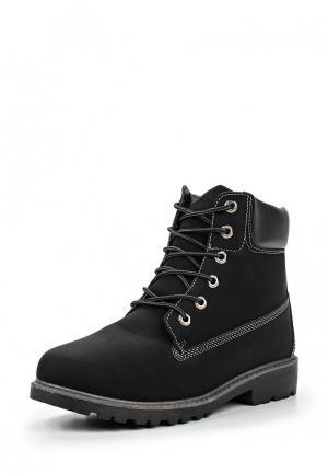 Ботинки YMD. Цвет: черный