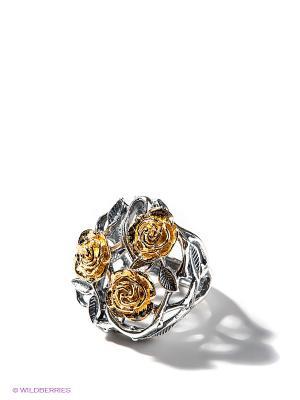 Кольцо Jenavi. Цвет: серебристый, золотистый