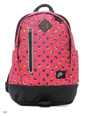 Рюкзак NIKE YA CHEYENNE PRINT BP. Цвет: розовый, черный