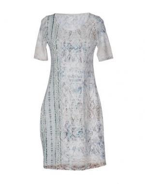 Короткое платье GRAN SASSO. Цвет: светло-серый