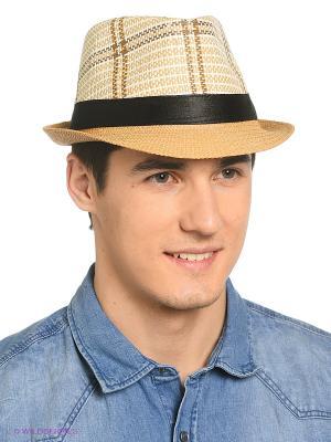 Шляпа Shapkoff. Цвет: светло-бежевый, черный