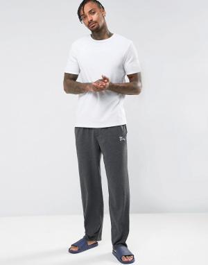 Tokyo Laundry Трикотажные пижамные штаны. Цвет: черный