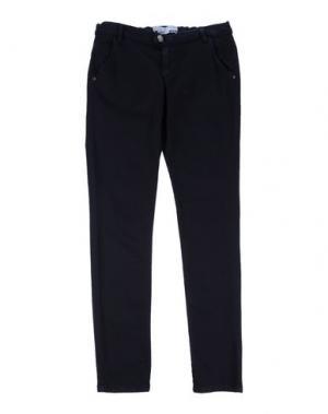 Повседневные брюки TAKE-TWO TEEN. Цвет: темно-синий