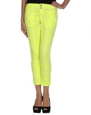 Повседневные брюки MICHAEL DASS. Цвет: желтый