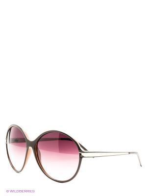 Солнцезащитные очки GF Ferre. Цвет: коричневый