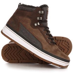 Ботинки зимние  Gk 3000 Dark Brown K1X. Цвет: коричневый,серый