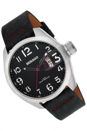 Часы Sebago. Цвет: серебряный