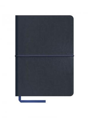 Записная книжка Caprice soft на резинке Office space. Цвет: синий