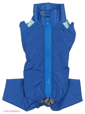 Комбинезон холодный на шелке (Чихуахуа) ТУЗИК. Цвет: синий