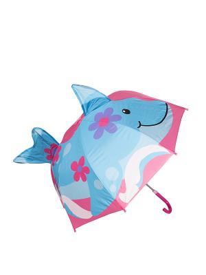 Зонт Mitya Veselkov. Цвет: синий, розовый